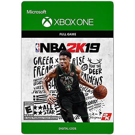 NBA 2K19 (Xbox One) - Digital Code