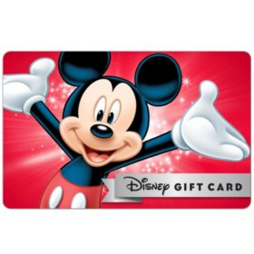 Disney eGift Card - Various Amounts (Email Delivery)