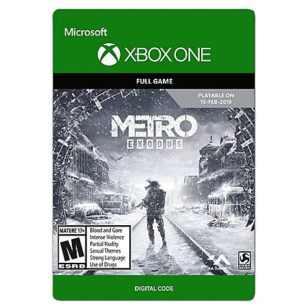 Metro Exodus, Standard Edition (Xbox One) - Digital Code
