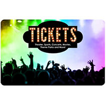 Tickets Card San Francisco & San Jose Live Events $100 Value