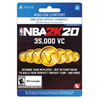 NBA 2K20 35,000 Virtual Currency (PlayStation 4) - Digital Code (Email Delivery)