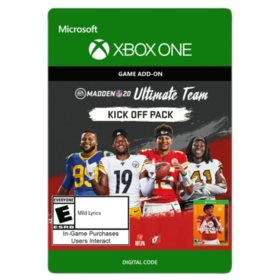 Madden NFL 20: Kick Off Upgrade (Xbox One) - Digital Code