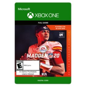Madden NFL 20: Ultimate Superstar Edition (Xbox One) - Digital Code