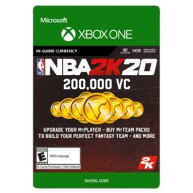 NBA 2K20: 200,000 VC (Xbox One) - Digital Code (Email Delivery)