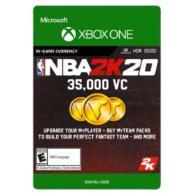 NBA 2K20: 35,000 VC (Xbox One) - Digital Code (Email Delivery)