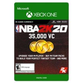 NBA 2K20: 35,000 VC (Xbox One) - Digital Code