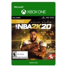 NBA 2K20: Digital Deluxe (Xbox One) - Digital Code