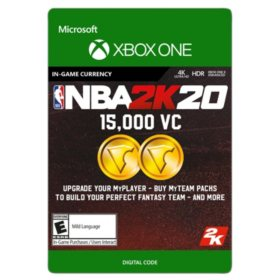 NBA 2K20: 15,000 VC (Xbox One) - Digital Code