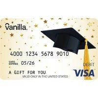 Vanilla eGift Visa® Virtual Account - Graduation Various Amounts (Email Delivery)