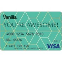Vanilla eGift Visa? Virtual Account - You're Awesome Various Amounts (Email Delivery)