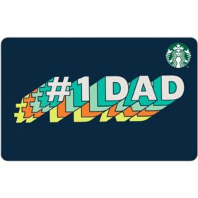 Starbucks Fathers Day eGift (Email Delivery) - Various Amounts
