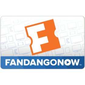 FandangoNOW eGift Card - Various Amounts (Email Delivery)