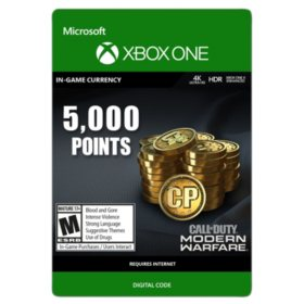 Call of Duty: Modern Warfare Points - 5,000 (Xbox One) - Digital Code