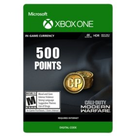 Call of Duty: Modern Warfare Points - 500 (Xbox One) - Digital Code