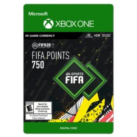 FIFA 20 ULTIMATE TEAM™ 750 POINTS (Xbox One) - Digital Code