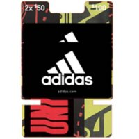 Adidas $100 Value Gift Cards - 2 x $50