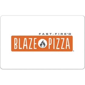 Blaze Pizza $25 eGift Card (Email delivery)