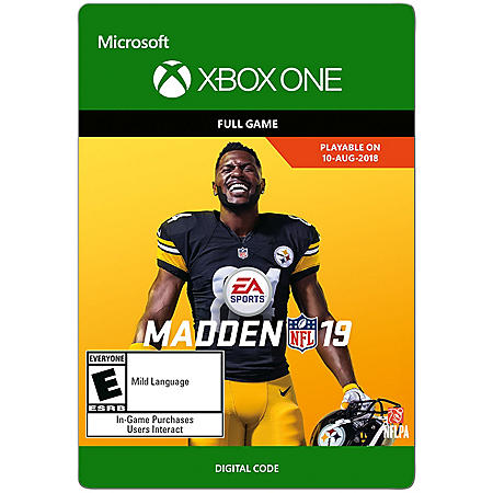 Madden NFL 19: Standard Edition (Xbox One) - Digital Code