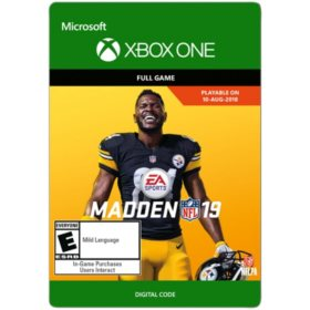 Madden NFL 19: Standard Edition (Xbox One) - Digital Code