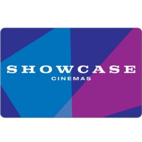 National Amusements-Showcase Cinemas eGift Card - Various Values (Email Delivery)