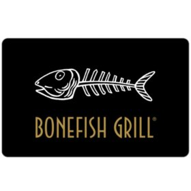 Bonefish Grill $100 eGift Card - Email Delivery