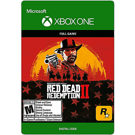 Red Dead Redemption 2 (Xbox One) - Digital Code