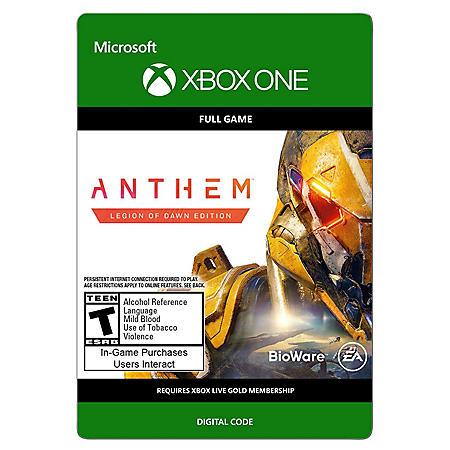 Anthem: Legion of Dawn Deluxe Edition (Xbox One) - Digital Code