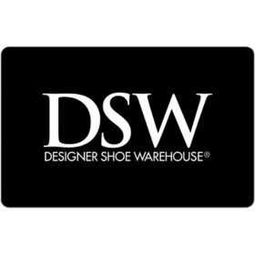 DSW $50 eGift Card (Email Delivery)