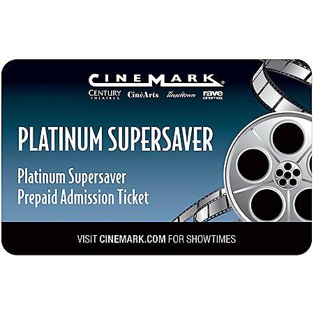 Cinemark 2 Movie Tickets for $18.98