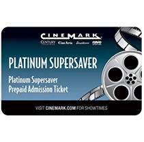 Cinemark 2 tickets for $18.98