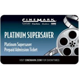 Cinemark 2 Movie Tickets for $18.98
