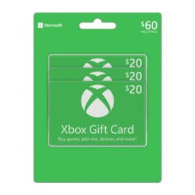 Xbox $60 Gift Card Multi-Pack