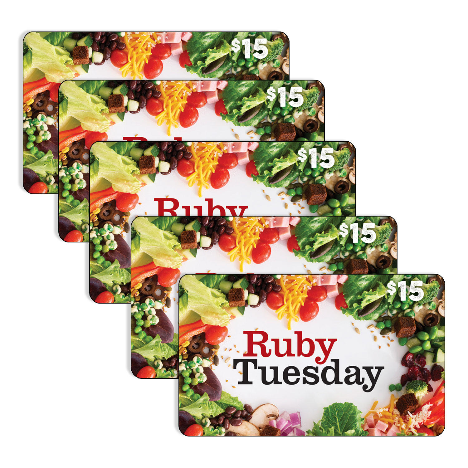 Ruby Tuesday $75 Value Gift Cards