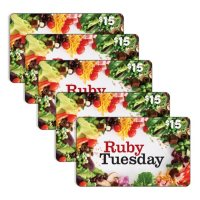 $75 Ruby Tuesday Gift Card