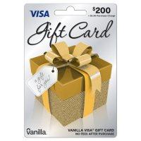 $200 Vanilla Visa Gift Card