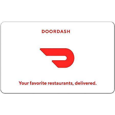 DoorDash $25 eGift Card (Email Delivery)