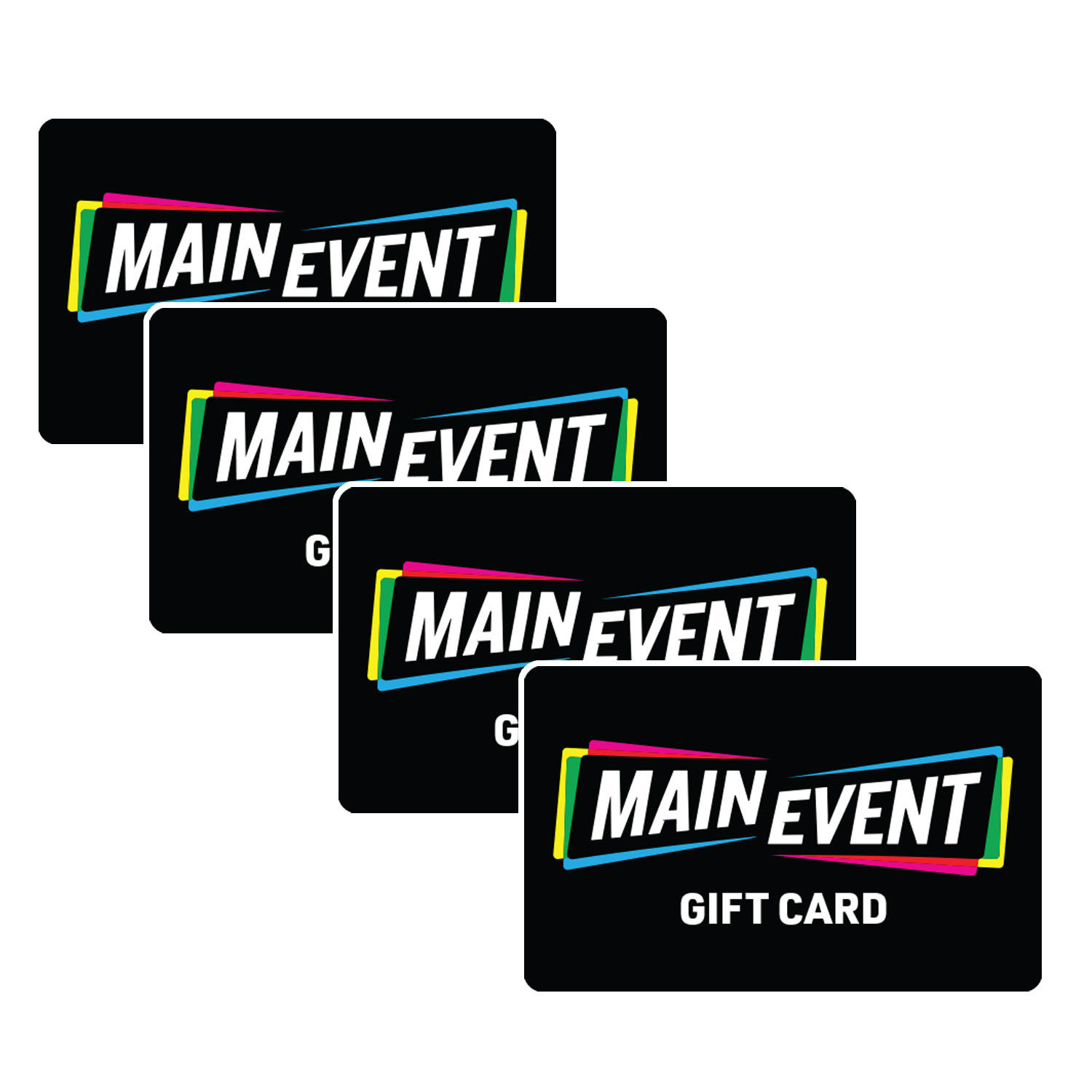 $100 (4 x $25) Main Event Gift Cards
