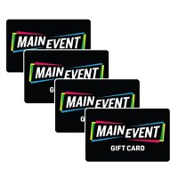 Main Event $100 Value Gift Cards -  4 X $25