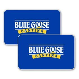 Blue Goose Cantina $50 Value Gift Cards - 2 x $25