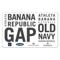 GAP Options (Gap, Old Navy, Banana Republic and, Athleta) $75 Value Gift Cards - 3 x $25