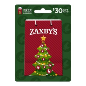 Zaxby's $30 Holiday Value Add w/$30 Gift Card & Free Holiday Gift Bag