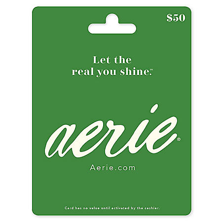 Aeri by American Eagle $50 Value Gift Card