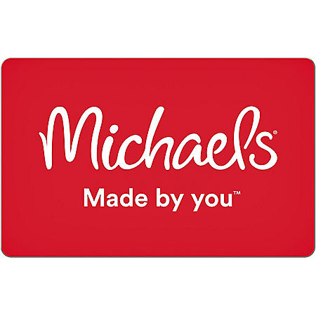 Michaels $50 eGift Card (Email Delivery)