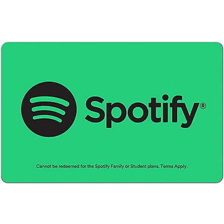 Spotify $120 Value Subscription - 1 x $120