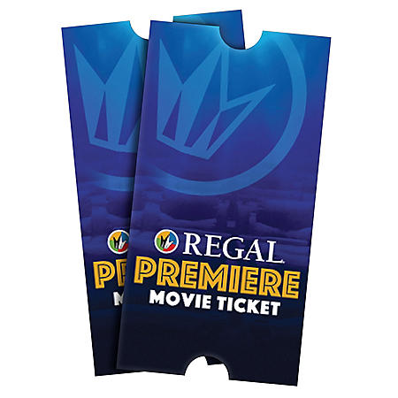 Regal 2 Tickets (CA, DC, Philadelphia, NYC Locations)