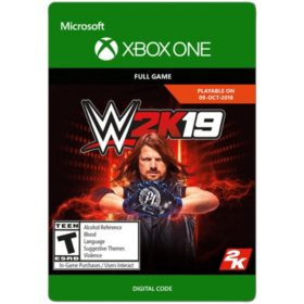 WWE 2K19 (Xbox One) - Digital Code