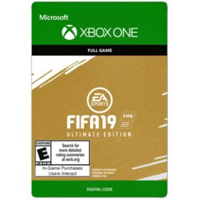 FIFA 19 Ultimate Edition (Xbox One) - Digital Code