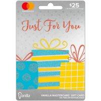 $25 Vanilla Mastercard Gift Card