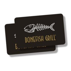 Bonefish $50 Value Gift Cards - 2 x $25