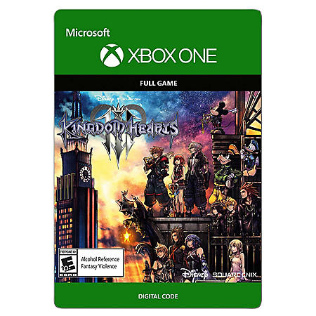Kingdom Hearts 3, Standard Edition (Xbox One) - Digital Code